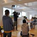 NHK Eテレ 趣味の園芸『やさいの時間』 撮影風景